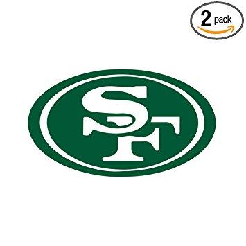 355x355 Nfl San Francisco 49ers (Green) (Set Of 2