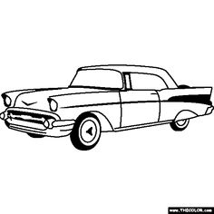 57 chevy silhouette at getdrawings com free for personal use 57 rh getdrawings com  57 chevy bel air clipart