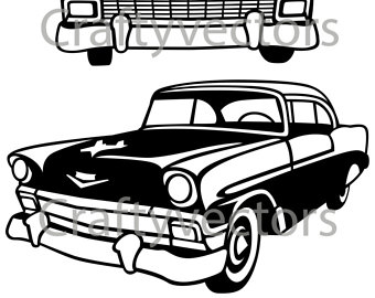 57 chevy silhouette at getdrawings com free for personal use 57 rh getdrawings com 57 chevy truck clipart 57 chevy clip art rat fink