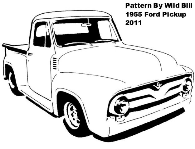 57 chevy silhouette at getdrawings com