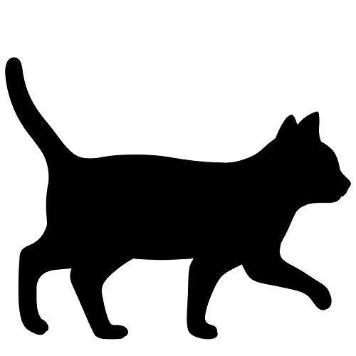 500x500 Toyo Case Japan Cat Silhouette Led Wall Light (Voice Sensor On 60s