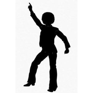 300x300 Amazon Disco Dancing Silhouette Jointed Cutout Rdtc