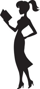 A Silhouette Of A Woman