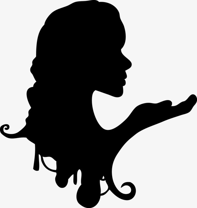 650x684 Human Face, Woman Silhouette, Woman Face, Human Vector Png