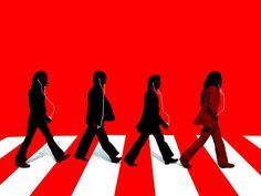 Abbey Road Silhouette