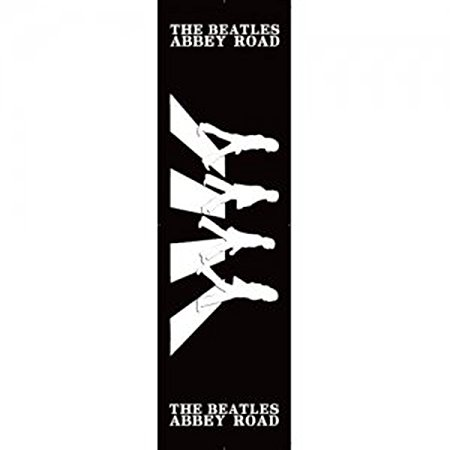 450x450 The Beatles Abbey Road Black And White Silhouette Album Cover