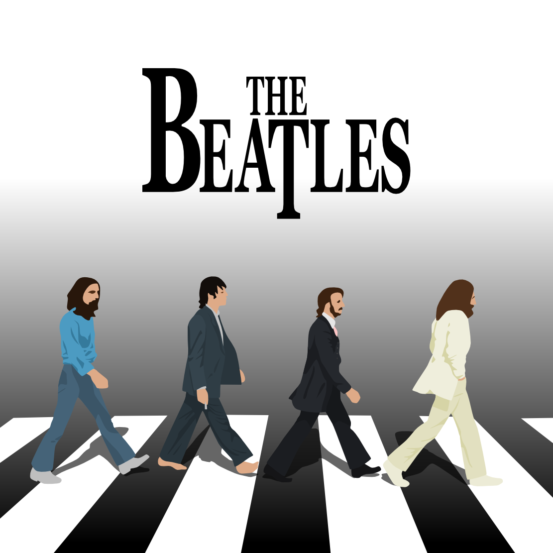 1111x1111 Abbey Road Vector