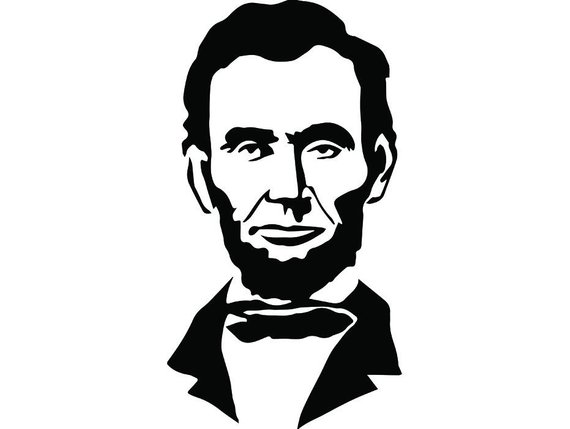 abraham lincoln silhouette clip art at getdrawings com free for rh getdrawings com free clipart of abraham lincoln free clipart of abraham lincoln
