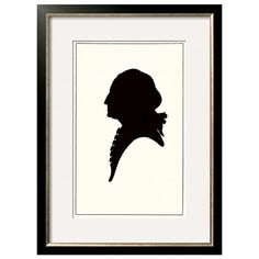 236x236 George Washington Silhouette Clip Art
