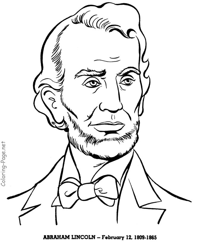 670x820 Abraham Lincoln Drawings For Kids
