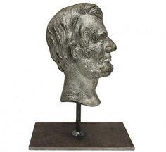 236x216 Period, Young Abraham Lincoln, Silhouette Lithograph, Rare, Circa