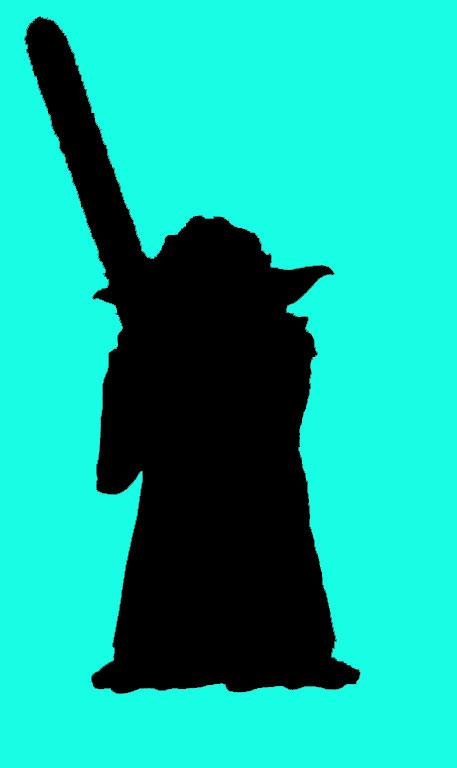 457x768 Yoda Silhouette awesomerific