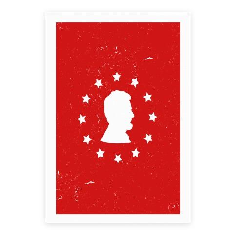 484x484 Abraham Lincoln Silhouette
