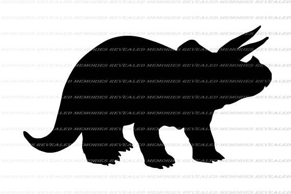 570x380 Triceratops Svg File Dinosaur Svg File Dinosaur Cricut File