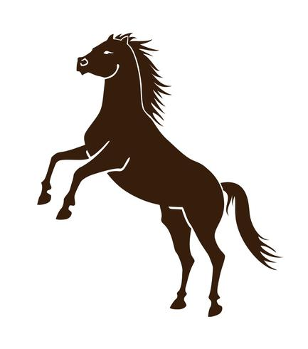 433x490 Horse Logo Free Vector Art