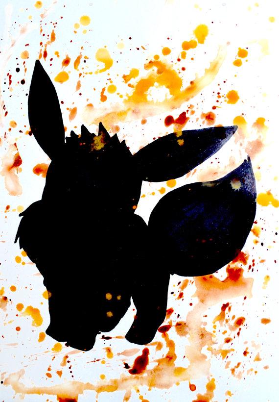 570x820 Original Who's That Pokemon Eevee Edition