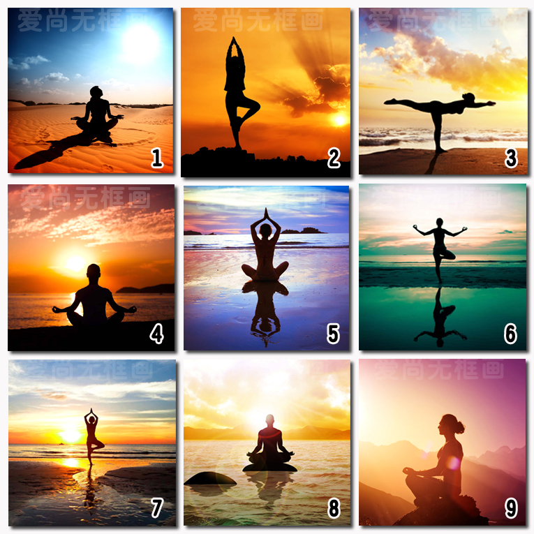 765x765 Abstract Sports Figure Of Beauty Salons Body Yoga Gym Health