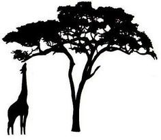 236x205 Sweet Silhouette Tree Silhouette, Chats Savannah And Silhouette
