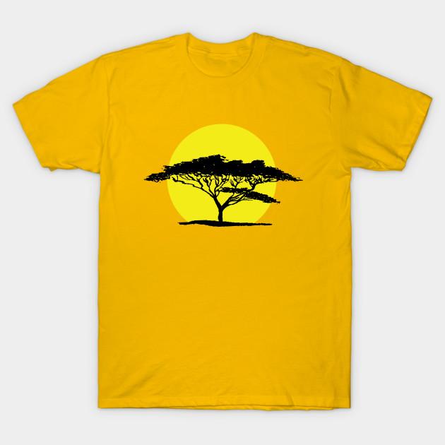 630x630 Acacia Tree Silhouette Against The Sun