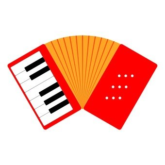 340x340 Free Silhouettes Music, Icon, Accordion