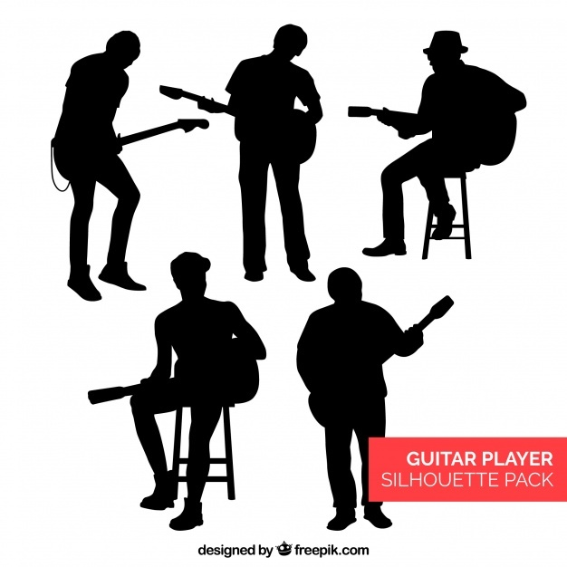 626x626 Acoustic Guitar Silhouette Vectors, Photos And Psd Files Free