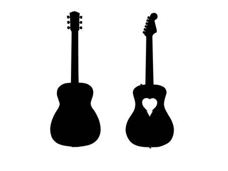 453x340 Free Cliparts Guitar, Silhouette 3
