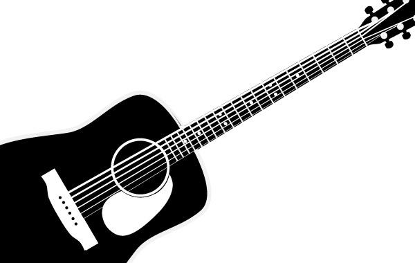 acoustic guitar silhouette at getdrawings com free for personal rh getdrawings com acoustic guitar vector image acoustic guitar vector outline