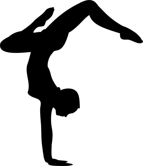 558x650 Dancer Silhouette 02 Stencils