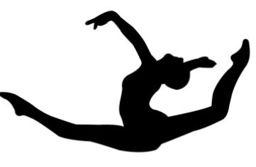 361x236 Pics For Gt Gymnastics Silhouette Acro Shadows