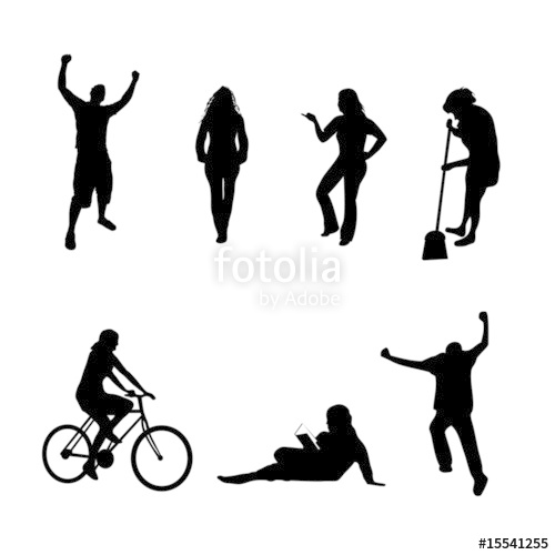 500x500 Vector Silhouettes Pack