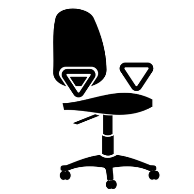 400x400 Adirondack Chair Clip Art, Free Vector Adirondack Chair