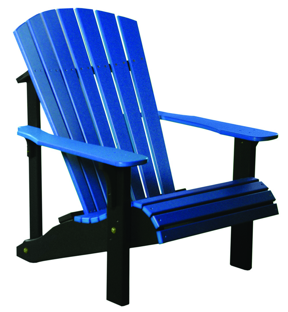 1000x1083 LuxCraft Poly Deluxe Adirondack Chair. Swingsets, LuxCraft Poly