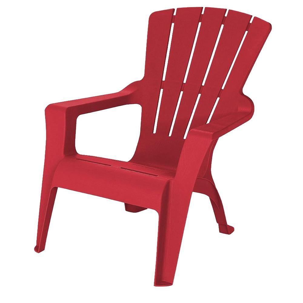 1000x1000 Us Leisure Adirondack Chili Patio Chair 232982