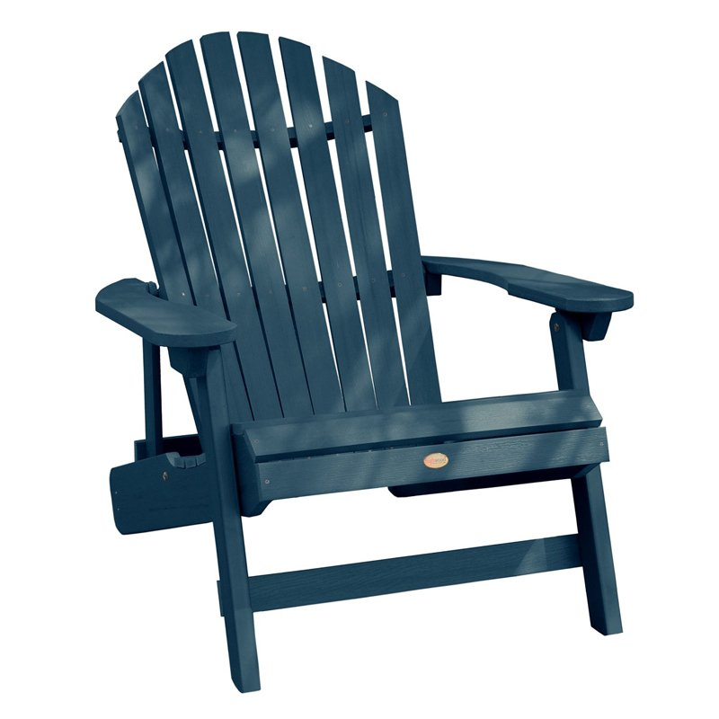 800x800 Highwood® KING Hamilton Folding Amp Reclining Adirondack Chair