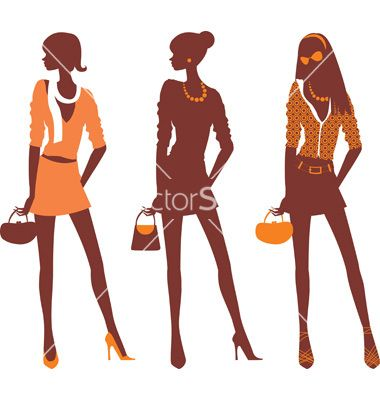 380x400 Fashionable Silhouettes Vector Teen Rooms