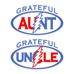 300x300 Grateful Dead Uncle Aunt Cuttable Design Cut File. Vector, Clipart