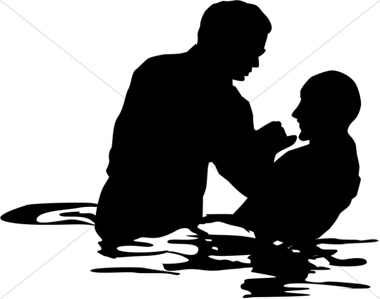 776x611 Adult Male Full Immersion Baptism Baptism Clipart