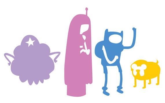 570x356 Adventure Time Jake And Finn Princess Bubblegum And Lumpy Space