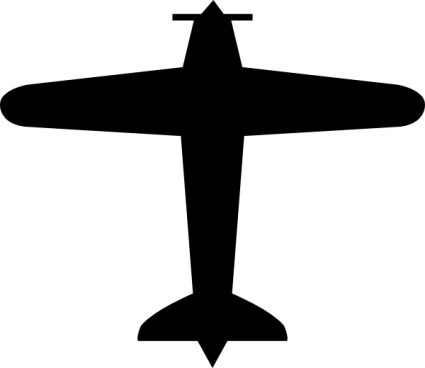 425x368 Airplane Vector