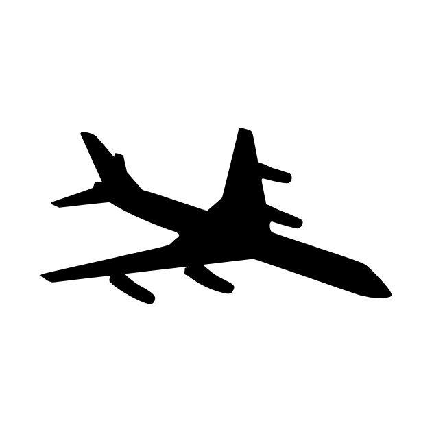 630x630 Limited Edition. Exclusive Aeroplane Silhouette