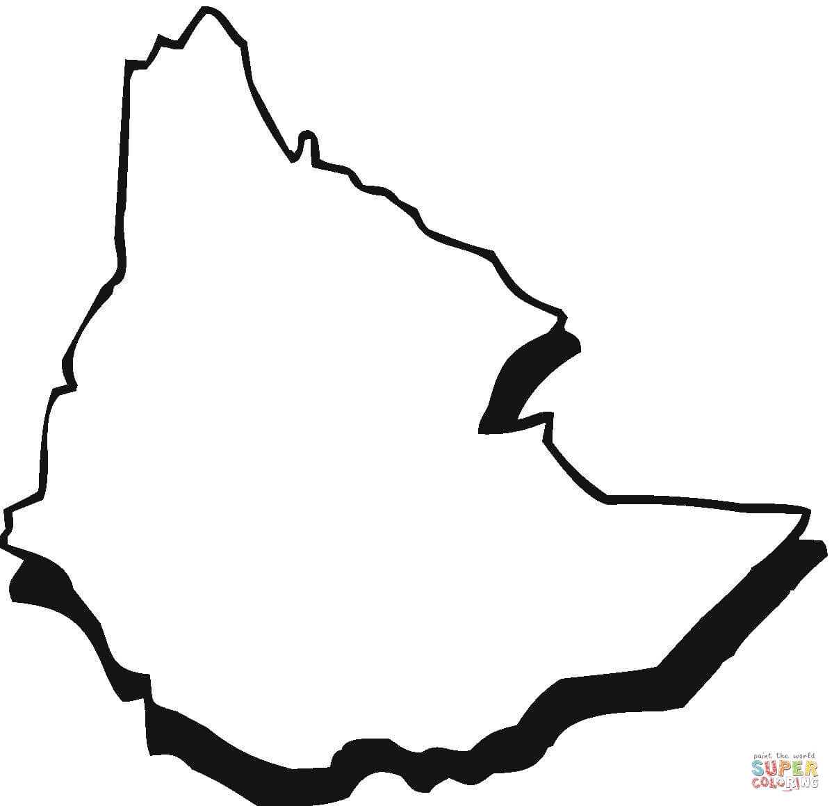 Africa Map Silhouette At Getdrawings Com Free For Personal Use