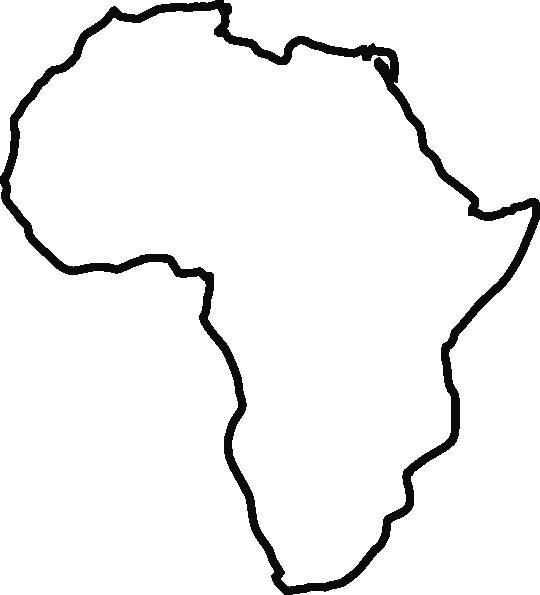 540x595 Africa Clipart