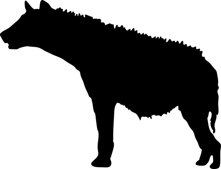 745x570 African Animal Silhouette