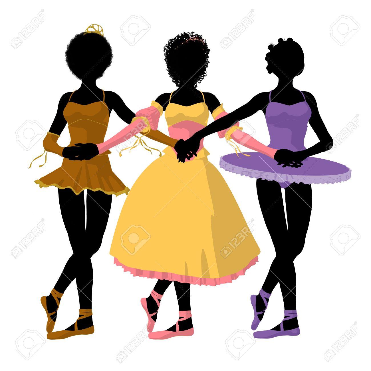 1300x1300 Ballet Clipart African American