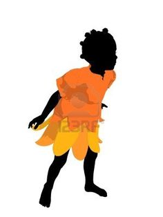 236x314 African American Fairy Girl Illustration African American