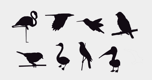 500x263 30 Free Animals Vectors