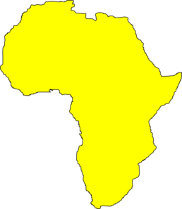 258x297 Continent Clipart Simple
