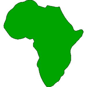 300x300 Africa Continent Clipart