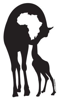 236x404 Africa Logo' By Derouiche Salaheddine Cricut