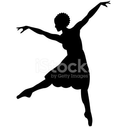 440x440 African Dancer Stock Vector